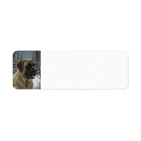 Mastiff Return Address Label