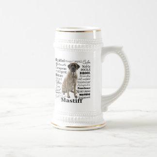 Mastiff Traits Stein Beer Steins