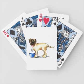 Mastiff Water Maker Bicycle Playing Cards