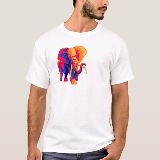 mat_savage_elephant T-Shirt