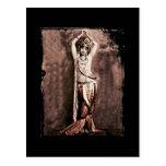 Mata Hari Belly Dancer Costume Post Card