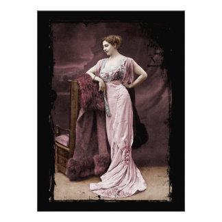Mata Hari de l Odeon Personalized Invitation