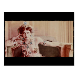 Mata Hari in Hindu Inspired Costume Postcard
