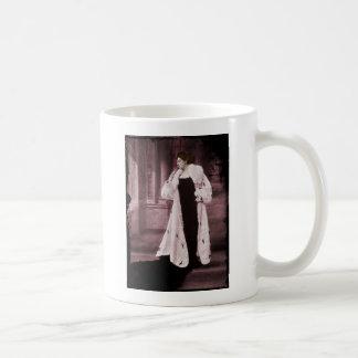 Mata Hari In White Fur Coat Mugs