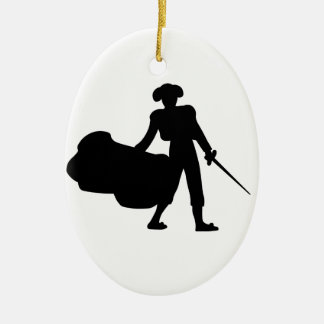 Matador Ceramic Oval Decoration