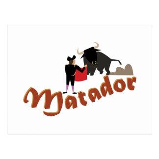 Matador Postcard