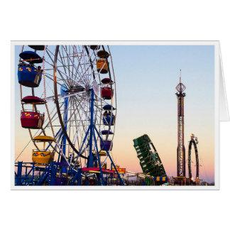 Matagorda County Fair Grounds, Bay City, Texas Card