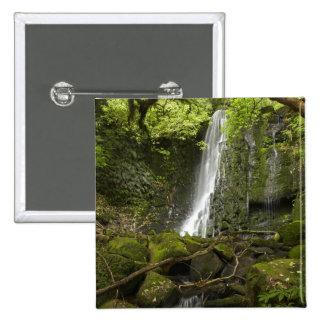 Matai Falls, Catlins, South Otago 15 Cm Square Badge