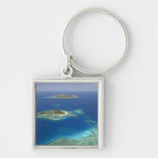 Matamanoa Island and coral reef, Mamanuca Island Key Ring