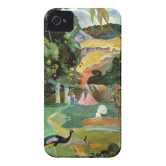 Matamoe or, Landscape with Peacocks, 1892 iPhone 4 Case-Mate Cases