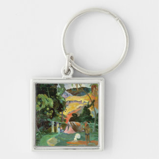 Matamoe or, Landscape with Peacocks, 1892 Key Chain