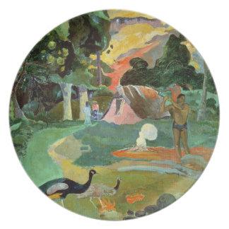 Matamoe or, Landscape with Peacocks, 1892 Plates