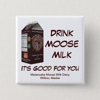 Matanuska Moose Milk 15 Cm Square Badge