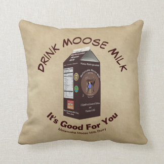 Matanuska Moose Milk Cushion