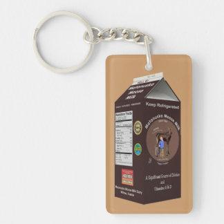 Matanuska Moose Milk Acrylic Key Chain