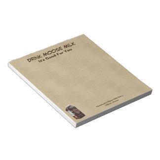 Matanuska Moose Milk Notepad