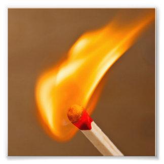 Match Fire Art Photo