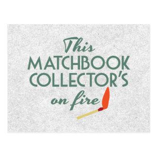 Matchbook Collector Postcard