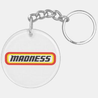 Matchbox? Madness! Double-Sided Round Acrylic Key Ring