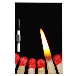 Matches Dry Erase Board