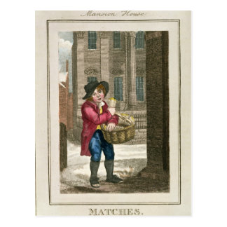 Matches, Mansion House Postcard