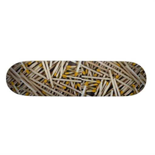Matches Photo Skate Decks