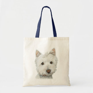 Matching Cute Westie Dog Bag