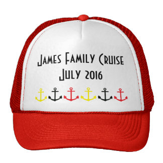 matching family cruise hats, vacation cap