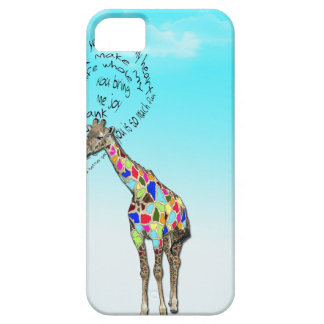 Matching giraffe love heart iphone covers