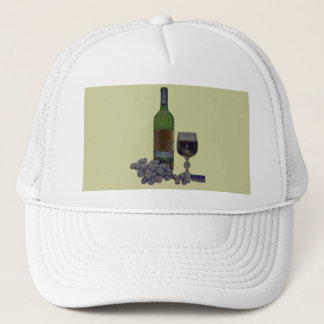 Matching Hat and Tie with Modern Wine Art