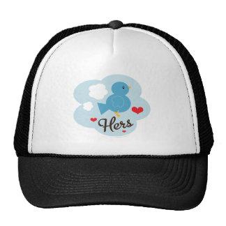 Matching Hers Love Bird Cap Hat
