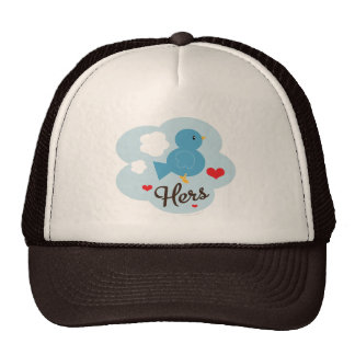 Matching Hers Love Bird Hat