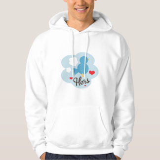 Matching Hers Love Bird Hooded Sweatshirt