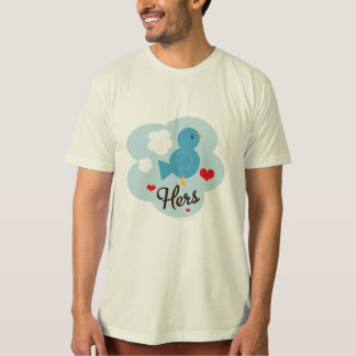 Matching Hers Love Bird Organic Tee