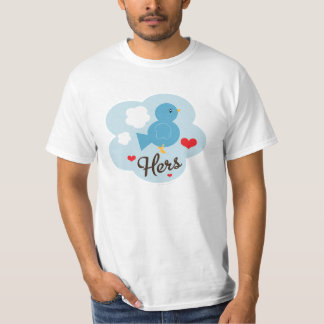Matching Hers Love Bird Value Tee
