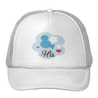 Matching His Love Bird Hat