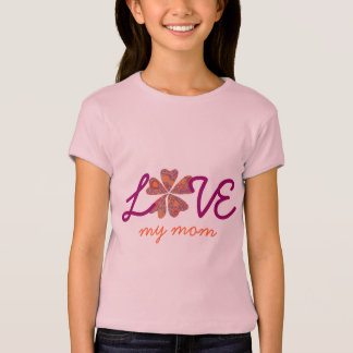 Matching Mom and Daughter Clothes - Blooming Heart Shirt