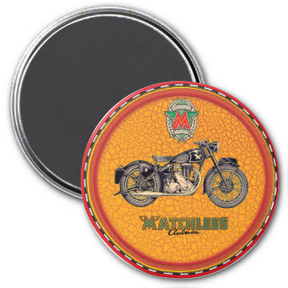 Matchless Motorcycles 7.5 Cm Round Magnet