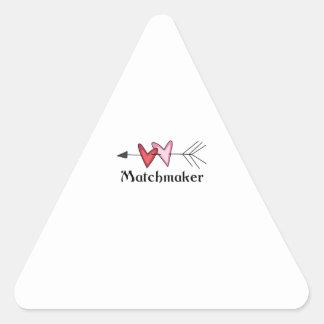 MATCHMAKER TRIANGLE STICKER