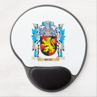 Mate Coat of Arms - Family Crest Gel Mousepads