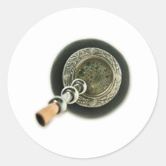 Mate Round Sticker