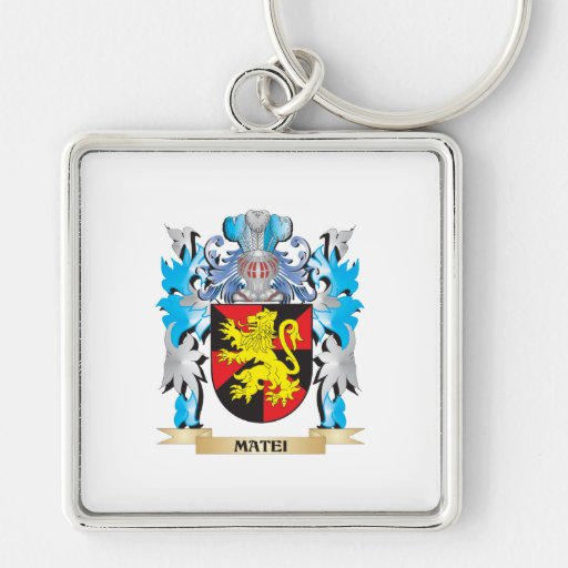 Matei Coat of Arms - Family Crest Key Chains
