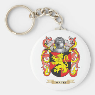 Matei Coat of Arms (Family Crest) Keychain