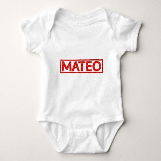 Mateo Stamp Baby Bodysuit
