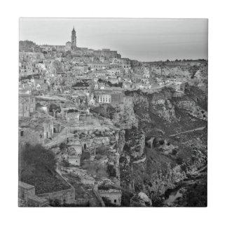 Matera in Basilicata, Italy Tile