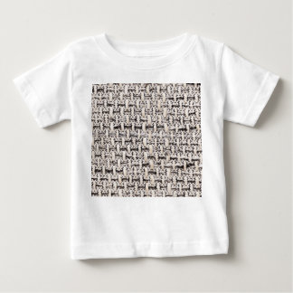 Material background baby T-Shirt