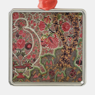 Material for the European market Silver-Colored Square Decoration
