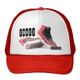 , material, [mac] trucker hat