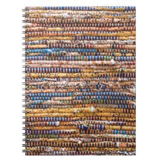 Material Rug Spiral Notebook