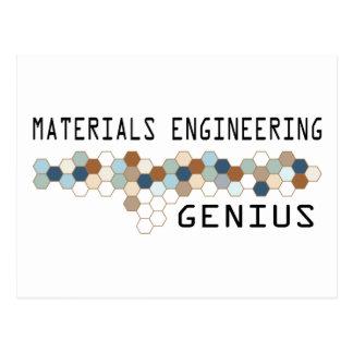 Materials Engineering Genius Postcard